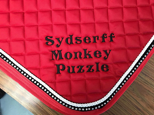 Saddle Pad Bling - Embroidered