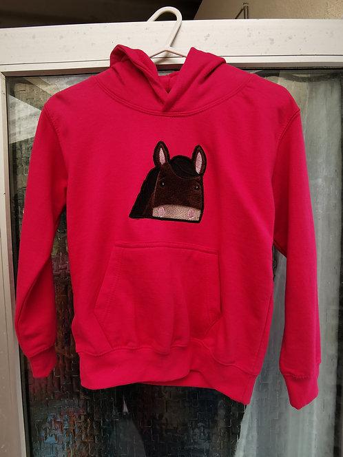 Pink hoody age 5-6
