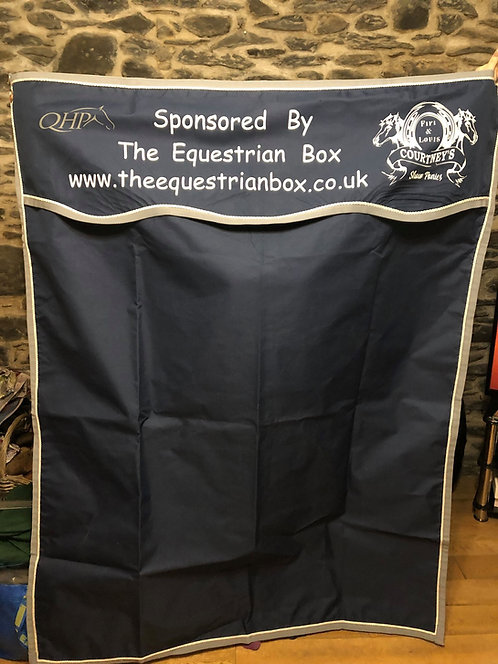 Personalised Stable Drapes