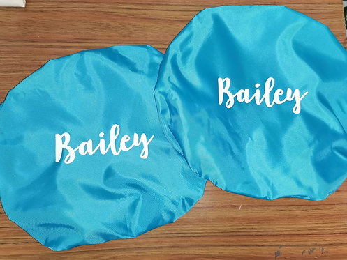 Personalised Bucket Covers x2