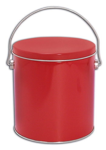 Red Pail (Tin Only)