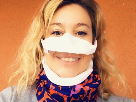 Article paru dans la Dépêche du Midi le 26.11.2020 sur notre distribution de masques transparents