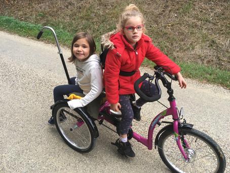 Le premier vélo de Margot,