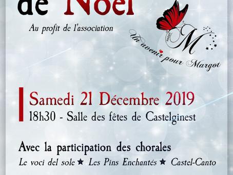 Chorale de Noël au profit de l'association Un Avenir pour Margot