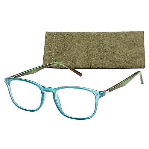 Columbus - Teal with Green