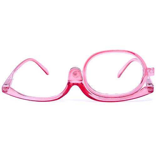 Óculos de maquiagem - Transparent Pink