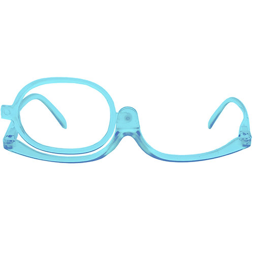 Óculos de maquiagem - Blue Transparent