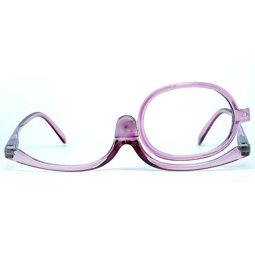 Óculos de maquiagem - Wine Transparent