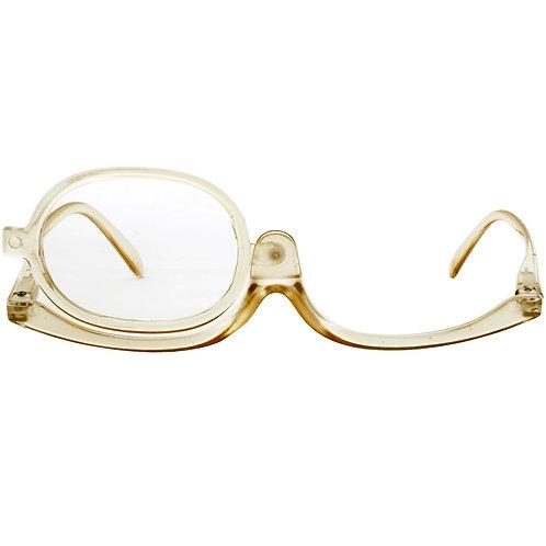 Óculos de maquiagem - Brown Transparent
