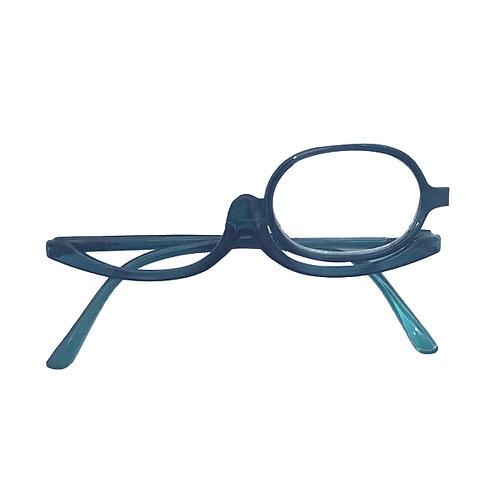 Óculos de maquiagem - Transparent Green