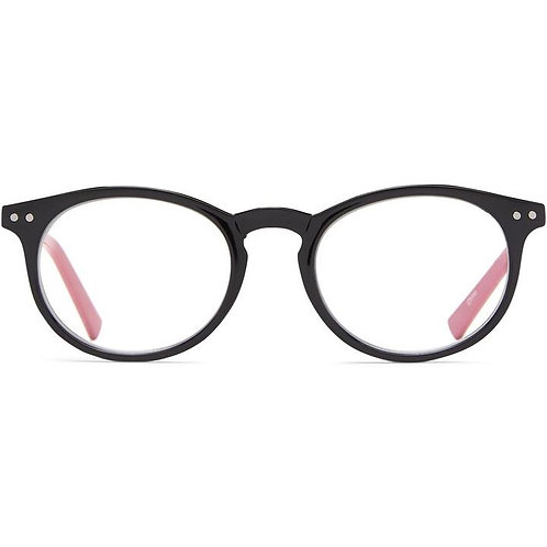 Lisse - Black with Pink