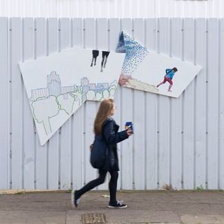 Hoardings Artworks for Urban Union