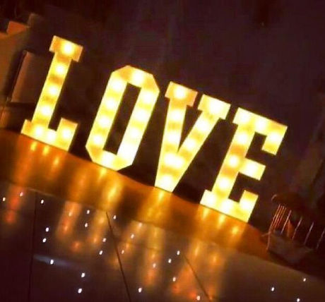 LOVE Letters 4ft LED