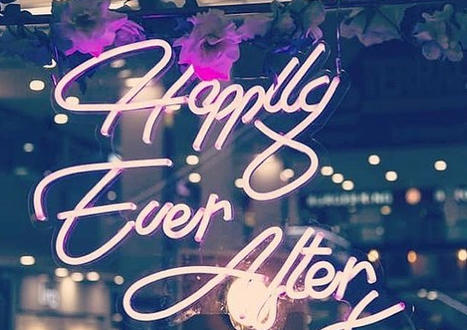 Happily Ever Afte Neon Sign Essex