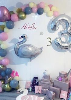 Acrylic Backdrop - Bespoke themed event Essex