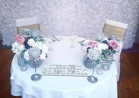 Intimate Wedding set up Essex
