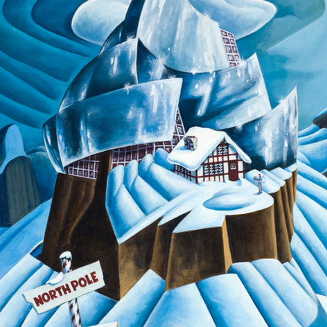 Frank Gehry's North Pole