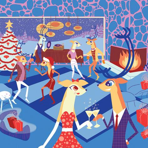 Reindeer Christmas Party