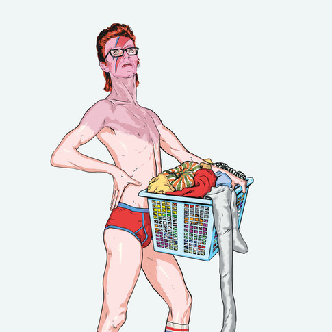 David Bowie, Laundry Day