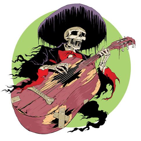Guitarrón Player