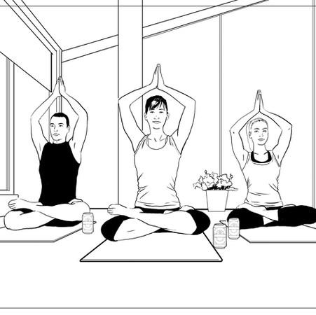 Heineken 0 Yoga Class