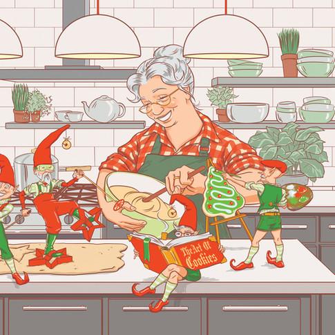 Mrs. Claus' Kitchen