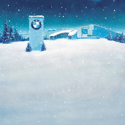 BMW Assembly Pant Christmas Card