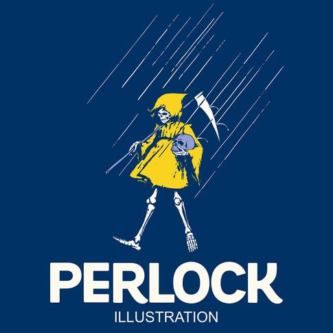 NEW ARRIVAL:  Perlock Illustration (Morton Salt Tribute)