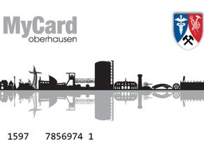 "Einführung der Bildungskarte ""MyCardOberhausen"""