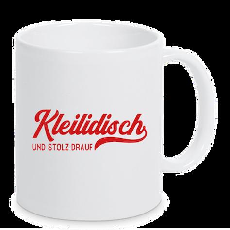 """Tasse """"Kleilidisch"""""""