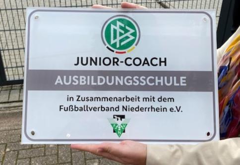 """DFB-Junior-Coach"" Ausbildung an der Fasia Jansen Schule"