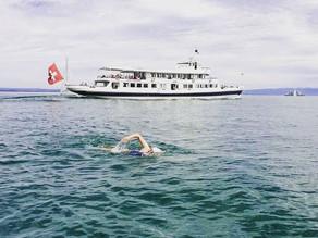 Doppelte Bodensee-Breitenquerung – schwimmend in die Schweiz und zurück