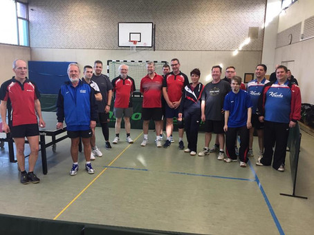 Tischtennis-Kreismeisterschaften des Betriebssport Oberhausen