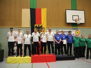 Drei Titel bei zwei Deutschen Meisterschaften krönen die Saison