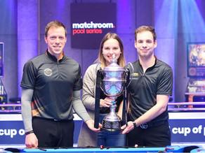 Joshua Filler (BCO) gewinnt zusammen mit Christoph Reintjes den World Cup of Pool