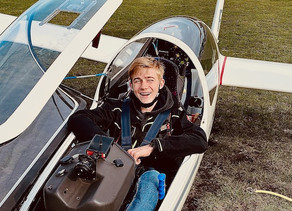 Nicolas Kleinblotekamp fliegt nun auch alleine