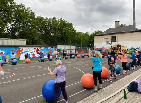Sport im Park 2020: Schaut Euch die ersten Bilder an