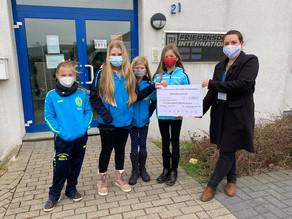 """""""Kinder laufen für Kinder – 1100 € fürs Friedensdorf Oberhausen"""""""