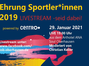 Virtuelle Sportler*innen Ehrung 2019 am 29.01.2021