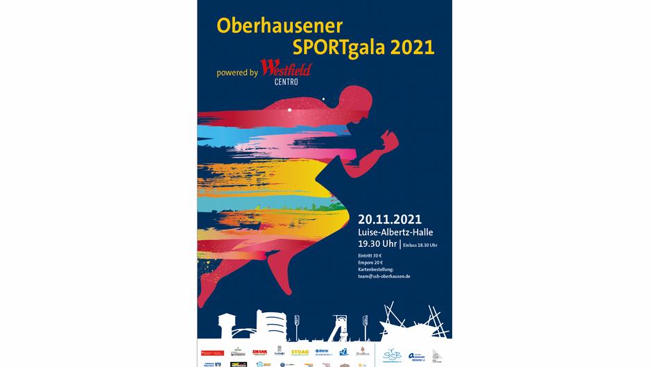 Oberhausener SPORTgala - Eintrittskarte sichern!