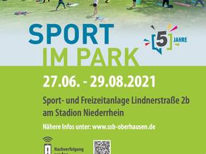 5 Jahre Sport im Park in Oberhausen – Geht mit uns ins Jubiläumsjahr