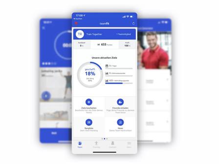 Wettbewerbe organisieren: Teamfit App-2000 Premium Lizenzen vom LSB für Vereine
