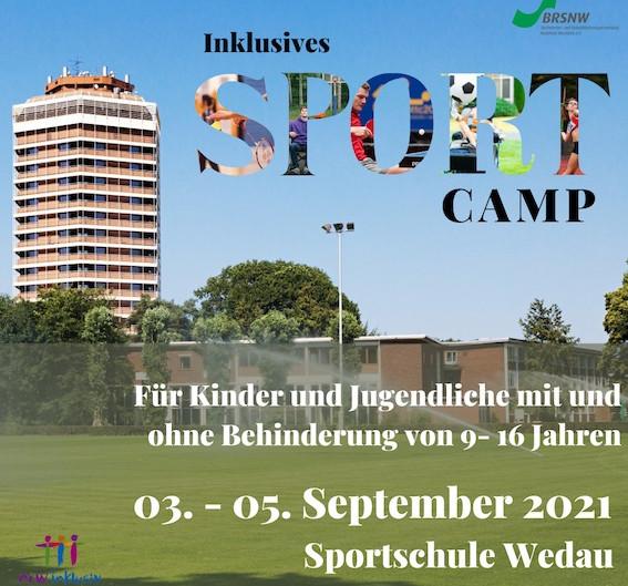 Inklusives Sportcamp für Kinder und Jugendliche