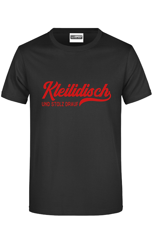 """Herren T-Shirt """"Kleilidisch-stolz"""""""