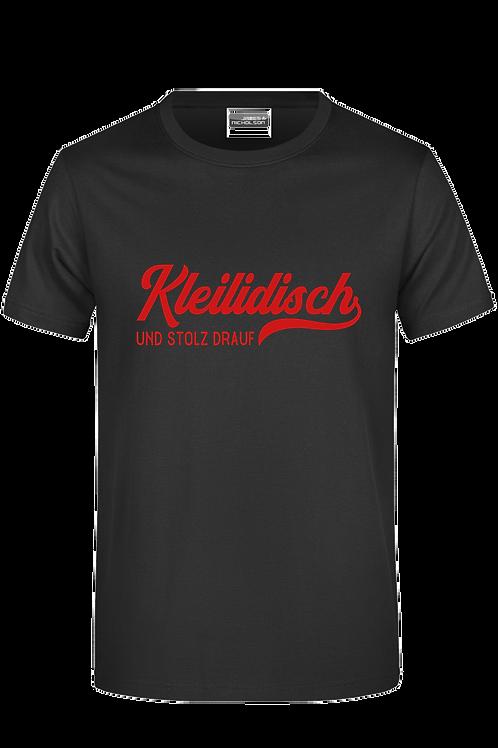 "Kinder T-Shirt ""Kleilidisch-stolz"""