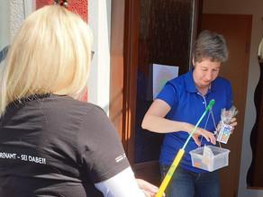 #Sportehrenamt – sei dabei! Die ersten Powerbanks für Powerfrauen wurden in Oberhausen verteilt