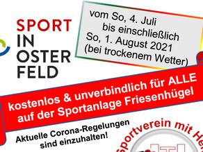 Fit fitter friesenfit - das Sommer-Ereignis auf dem Friesenhügel
