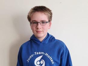 Linus Gertzen vom Judo-Team Holten besteht ebenfalls Vielseitigkeitswettbewerb des Verbandes