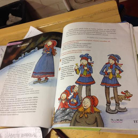 Reading a Lapland Story