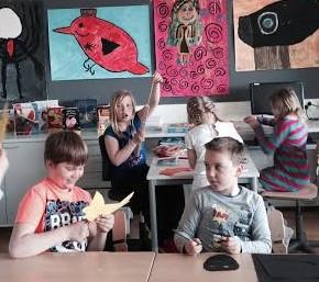 Being Creative in an Art Class